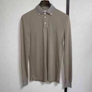 ブルネロクチネリ(BRUNELLO CUCINELLI)のブルネロクチネリ ボタンダウン鹿の子ポロシャツ sizeS イタリア製(ポロシャツ)