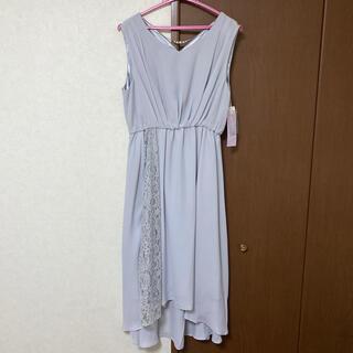 シマムラ(しまむら)のしまむら/サイドレース切り替えドレス(ひざ丈ワンピース)