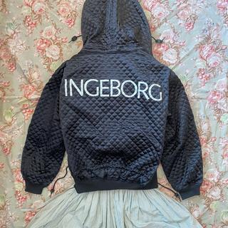 INGEBORG - インゲボルグ  キルティング サテンジャケット