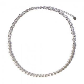 ジエダ(Jieda)のKIKUNOBU  switching pearl necklace (6mm)(ネックレス)