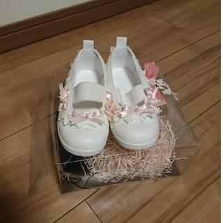 デコレーション 上靴 バレエシューズ 14.0㎝ (その他)
