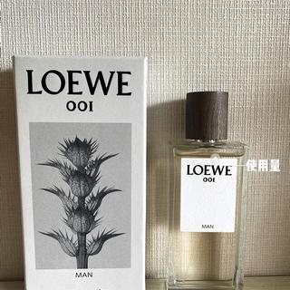 ロエベ(LOEWE)の美品★購入難100ml LOEWE 001 MAN オーデトワレ(ユニセックス)