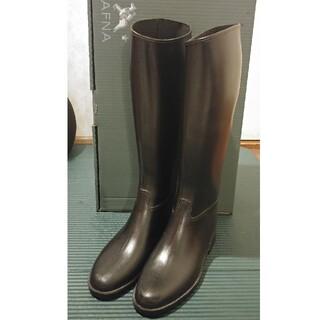ダフナ(Dafna)のダフナ レインブーツ 長靴 ブラック サイズ40(レインブーツ/長靴)