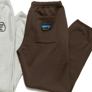 HUMAN MADE SWEAT FLEECE PANTS DUCK(ワークパンツ/カーゴパンツ)