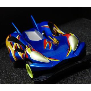 ミニ四駆 スピンアックスMk.II 全塗装完成品 サンプル(模型/プラモデル)