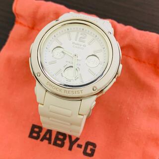 ベビージー(Baby-G)のカシオ Baby-G アナデジモデル ホワイト BGA-150-7BJF(腕時計)