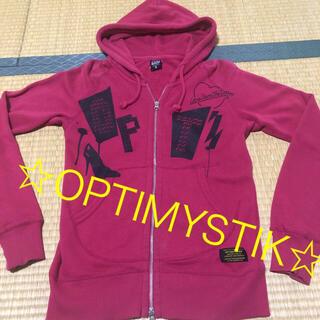 オプティミスティック(Optimystik)のOPTIMYSTIK パーカー☆メンズS(パーカー)