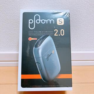 プルームテック(PloomTECH)の美品 Ploom S プルームエス 2.0 スターターキット<アイスシルバー>(タバコグッズ)