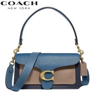 コーチ(COACH)のcoach コーチ タビー ショルダーバッグ ハンドバッグ カラーブロック(ショルダーバッグ)