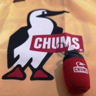チャムス(CHUMS)のCHUMS クリスマス ノベルティ ストラップ 赤色(キャラクターグッズ)