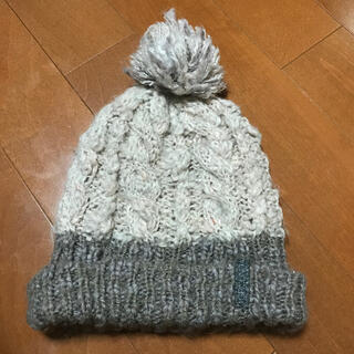 デサント(DESCENTE)のニット帽子(〃ω〃)スノボー スキーに(*^ω^*)(ウエア/装備)