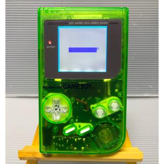 ゲームボーイ - ゲームボーイクリアグリーン バックライト・プロサウンドカスタム