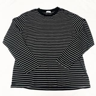 アレッジ(ALLEGE)のAllege ボーダー ロングスリーブTシャツ(Tシャツ/カットソー(七分/長袖))