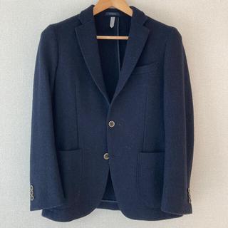 ハリスツイード(Harris Tweed)のハリスツィードジャケット 濃紺 170cm-8Drop(スーツジャケット)