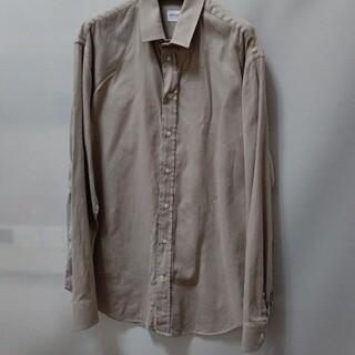アルマーニ コレツィオーニ(ARMANI COLLEZIONI)のARMANI ベージュ色LLサイズぐらいシャツ(シャツ)