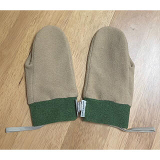 モンベル(mont bell)のmontbell ポーラーミトン 手袋 2〜3歳用 美品(手袋)
