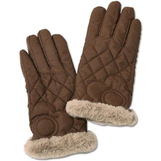 マリークワント(MARY QUANT)の新品 マリークワント デイジーキルト 手袋 ブラウン(手袋)
