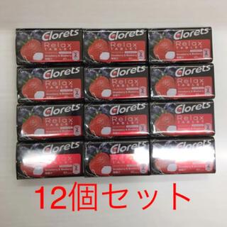 クロレッツ リラックスタブレット 12個セット (菓子/デザート)