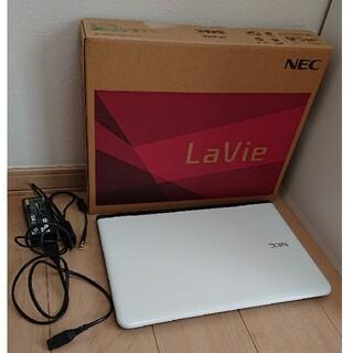 エヌイーシー(NEC)のNEC ノートPC PC-GN19DJSA4(ホワイト)(ノートPC)