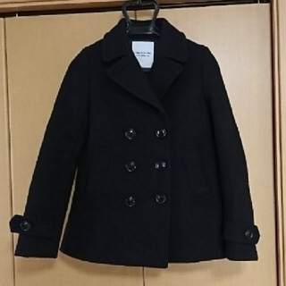 ユナイテッドアローズ(UNITED ARROWS)のユナイテッドアローズ ピーコート UNITED ARROWS 美品 ブラック 黒(ピーコート)