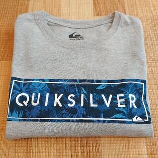 クイックシルバー(QUIKSILVER)のQuick silver ロゴ ロングTシャツ(Tシャツ/カットソー(七分/長袖))
