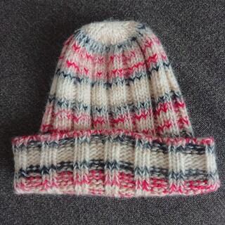 バーバリーブルーレーベル(BURBERRY BLUE LABEL)のBURBERRY BLUE LABELニット帽(ニット帽/ビーニー)