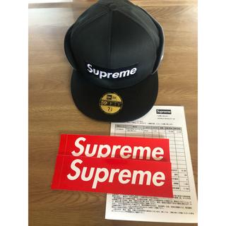 シュプリーム(Supreme)のSupreme WINDSTOPPER New Era Cap 7 3/8 クロ(キャップ)