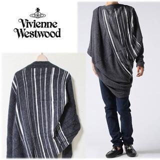 ヴィヴィアンウエストウッド(Vivienne Westwood)の 《ヴィヴィアンウエストウッド》新品 サリーアル ドレープセーター ローブ F (ニット/セーター)