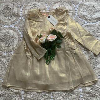 ボンポワン(Bonpoint)のlouise misha ルイーズミーシャ 80%シルクワンピース 6y(ドレス/フォーマル)