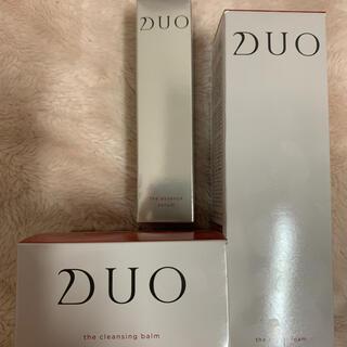 【新品未開封】DUO クレンジングバーム&ブライトフォーム&エッセンスセラム(美容液)