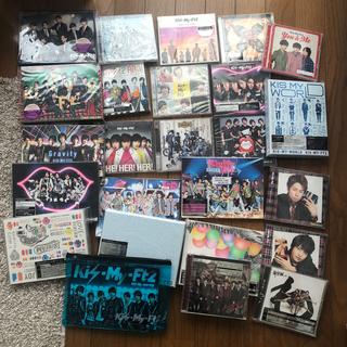 キスマイフットツー(Kis-My-Ft2)のキスマイ Kis-My-Ft2 CDまとめ売り A(アイドルグッズ)