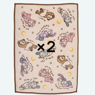 ダッフィー(ダッフィー)のダッフィー 毛布 2こ(毛布)