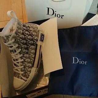 クリスチャンディオール(Christian Dior)のChristianDior風 ハイカットスニーカー(スニーカー)