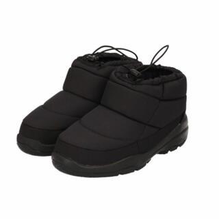 サマンサモスモス(SM2)のSmansa Mos2 ナイロンショートブーツ 黒 新品タグ付き(ブーツ)