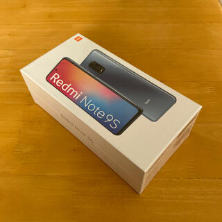 アンドロイド(ANDROID)の【新品未開封SIMフリー送料込み】Redmi Note 9S 64GB ホワイト(スマートフォン本体)