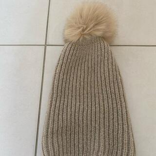 ザラ(ZARA)のZARAニット帽(ニット帽/ビーニー)