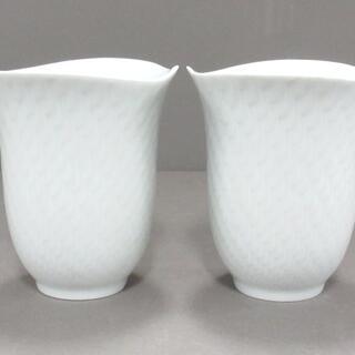 マイセン(MEISSEN)のマイセン 食器新品同様  - 白 ペアカップ(その他)