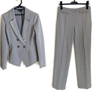 エンポリオアルマーニ(Emporio Armani)のエンポリオアルマーニ サイズ40 M - 黒×白(スーツ)