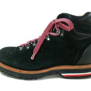 モンクレール(MONCLER)のモンクレール ショートブーツ 41 メンズ -(ブーツ)