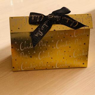 クリスチャンディオール(Christian Dior)のクリスチャンディオール☆コスメギフト用ボックス(ラッピング/包装)