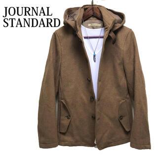 ジャーナルスタンダード(JOURNAL STANDARD)のJOURNAL STANDARD ウールコート ステンカラーコート キャメル(ステンカラーコート)
