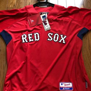 マジェスティック(Majestic)の【最終セール!14,490⇒5500円】Boston Red Soxユニフォーム(ウェア)