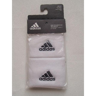 アディダス(adidas)の新品未開封 アディダス テニス リストバンド スモール ホワイト 白(その他)