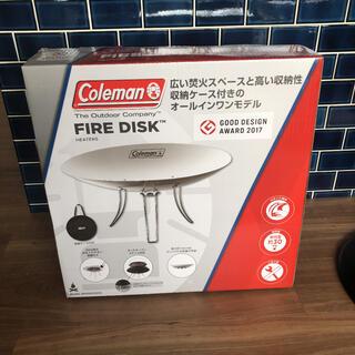 Coleman - 【新品未使用・焚き火シート付】コールマン  ファイアーディスク