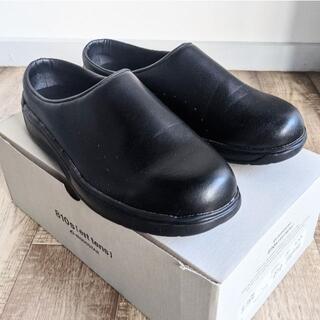 ムーンスター(MOONSTAR )の【美品】MOONSTAR ムーンスター 810s CAF カフ 黒(サンダル)