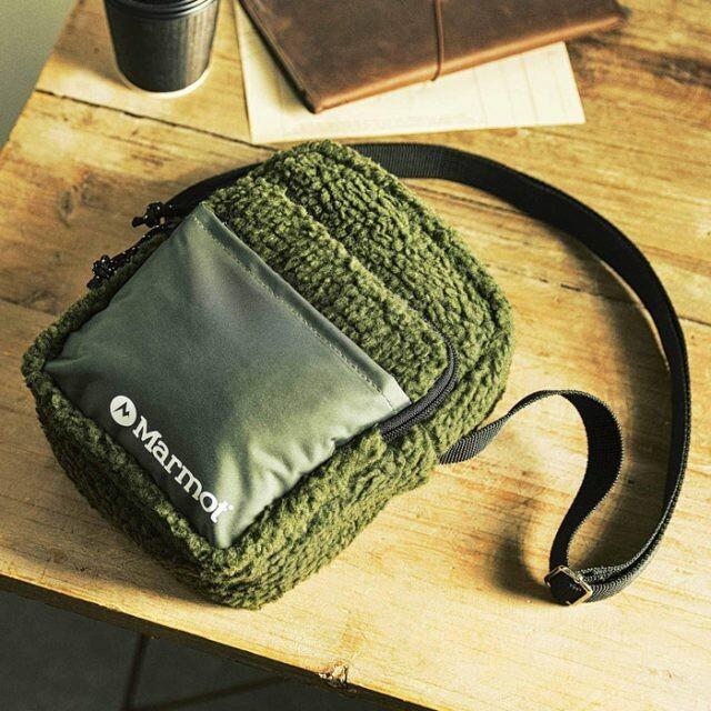 MARMOT(マーモット)のMarmot 3ポケット フリースショルダーバッグ メンズのバッグ(ショルダーバッグ)の商品写真