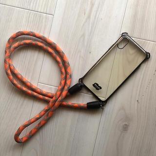フリークスストア(FREAK'S STORE)のヨセミテストラップ / iPhone x,iPhone xs用(iPhoneケース)