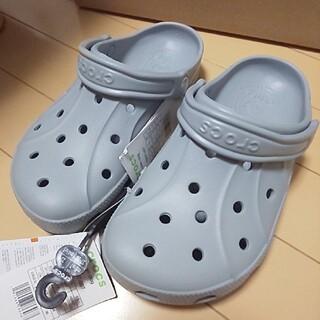 crocs - crocs サンダル 23