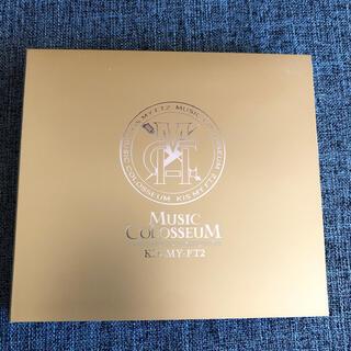 キスマイフットツー(Kis-My-Ft2)のキスマイ kis-my-ft2 アルバム MUSIC COLOSSEUM (ミュージック)