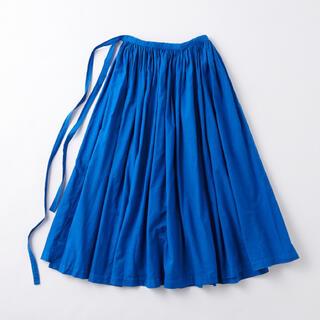 イデー(IDEE)のPOOL いろいろの服 巻きギャザーエプロン (ロングスカート)